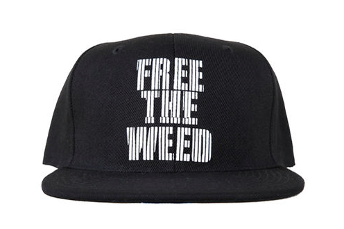 free the weed snapback